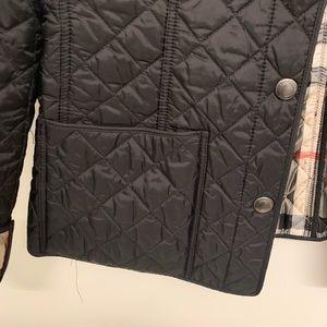 Burberry Jackets & Coats - Burberry Brit Women's Quilted Black Jacket Sz L